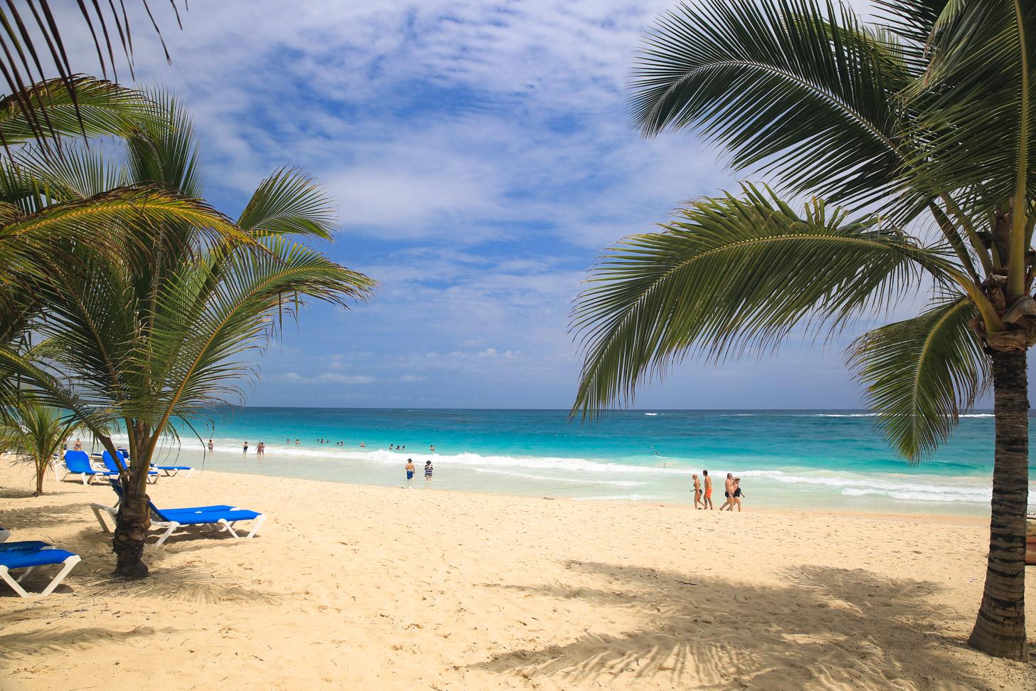 Het strand van Punta Cana