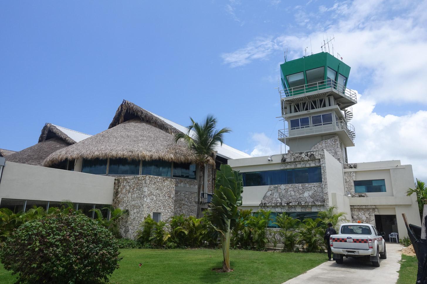 Het internationale vliegveld van Punta Cana