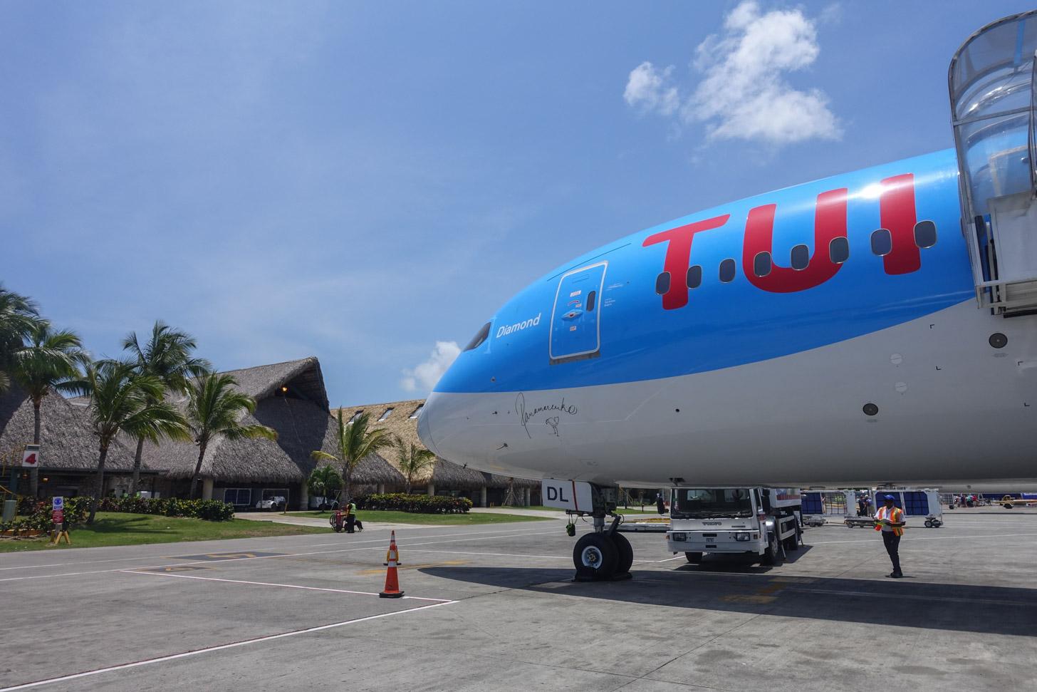 Je kunt met TUIfly naar Punta Cana vliegen.