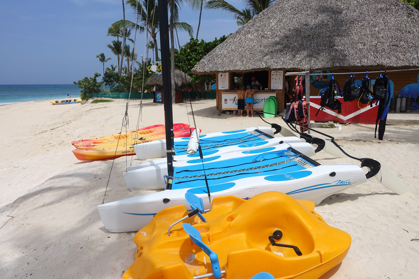 In Punta Cana kun je aan allerlei soorten watersport doen.